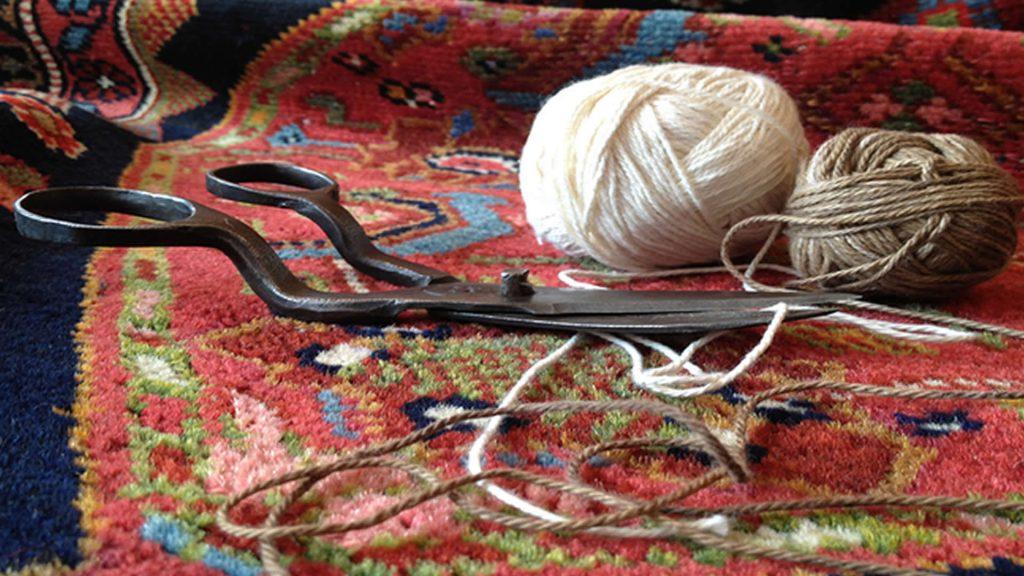 Carpet Restoration / Restauration de tapis persans